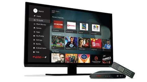 net tv airtel tv set top box supports tv channels