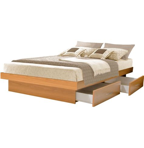 bed platform with drawers king platform bed with 4 drawers contempo space