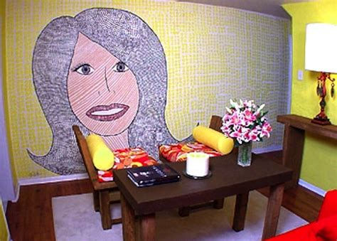 trading spaces hildi live laugh decorate trading spaces wacky designs of