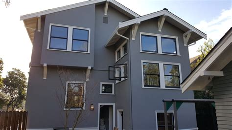 house paint colors exterior exles gray homes this exterior painting project in