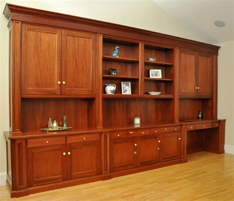 desk units for home office made traditional mahogany wall unit home office desk