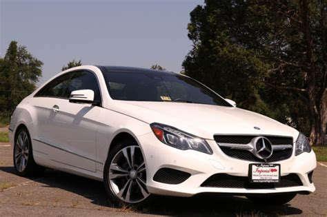 Mercedes E350 Coupe 2014 by 2014 Used Mercedes E Class 2dr Coupe E 350 Rwd At