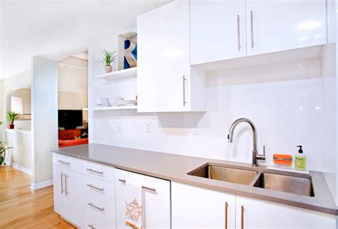 glossy white kitchen cabinets contemporary white high gloss foil kitchen cabinets