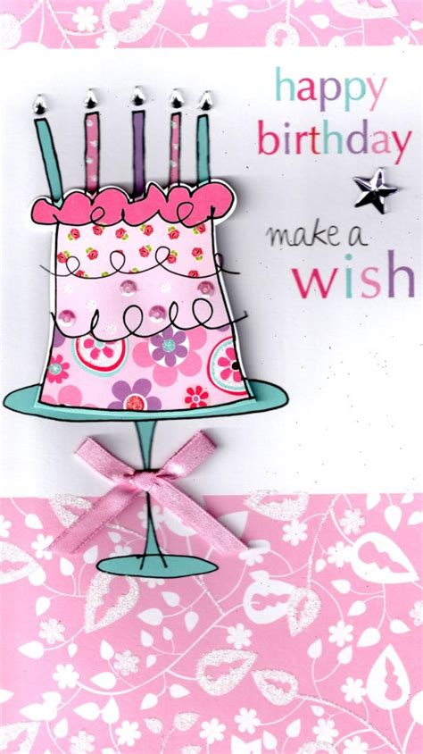 how to make happy birthday cards make a wish happy birthday greeting card cards kates