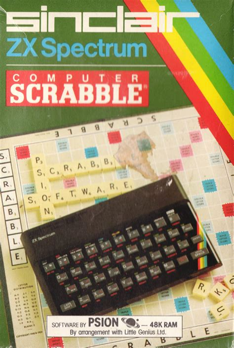 computer scrabble computer scrabble for zx spectrum 1983 mobygames
