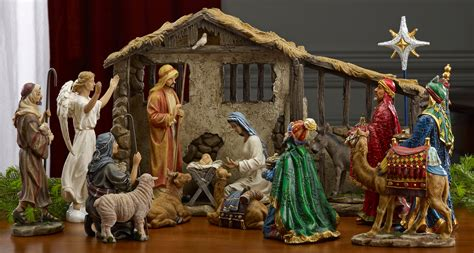 cheap nativity sets collectibles nativity sets gifts 9 quot holy family