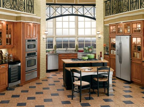best tile for kitchen floor cork flooring for your kitchen hgtv