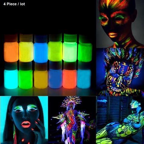 glow in the paint cheap aliexpress buy 4 x glowing paint glow in the
