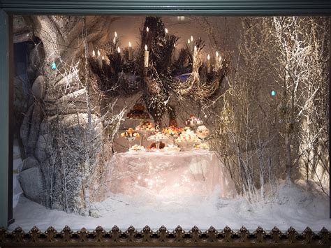 snow display window displays from around the world