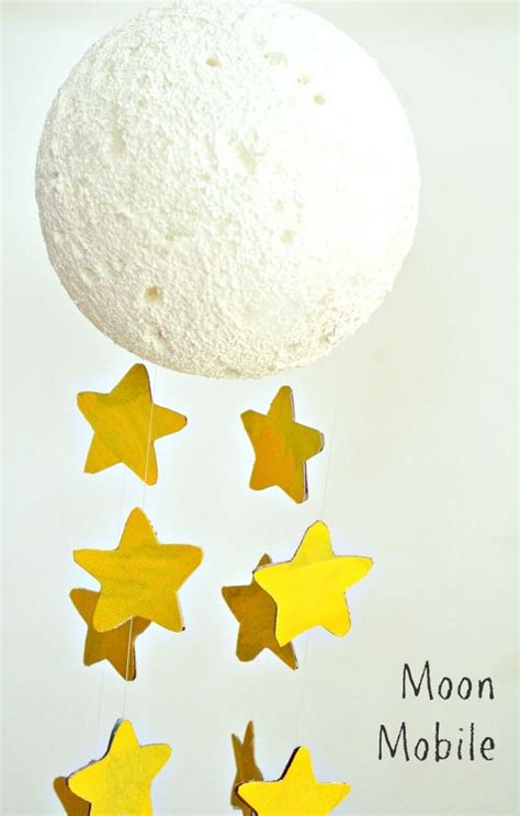 moon crafts for moon craft mobile for
