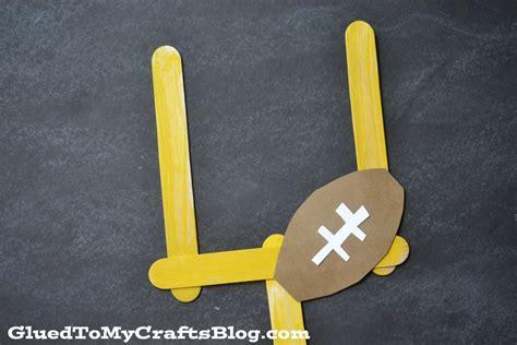 football crafts for mini football goal kid craft