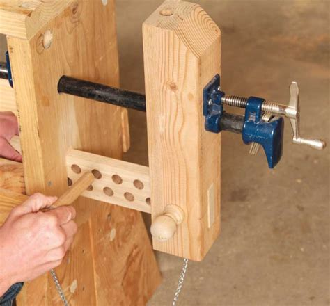 classic woodworking 3 classic vises made with pipe cls popular