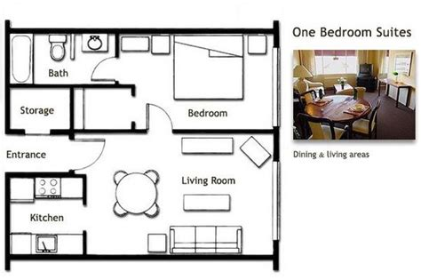 Rectangle House Floor Plans floor plan for one bedroom suite picture of la residence