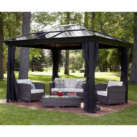 patio gazebo canopy patio canopy gazebo triyae backyard gazebo canopy