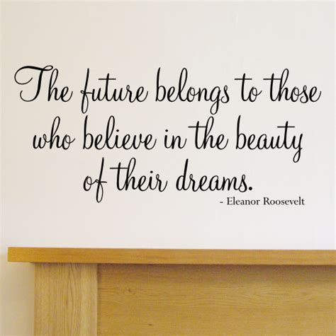 quotes wall sticker the future belongs quote wall sticker wa501x