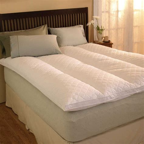 size feather bed pacific coast 174 rest 174 feather bed california king