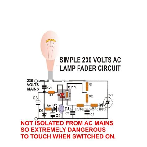 light fader how to build ac dc light fader circuits