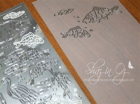 peel offs for card calligraphy cards shaz in oz tutorial peels offs