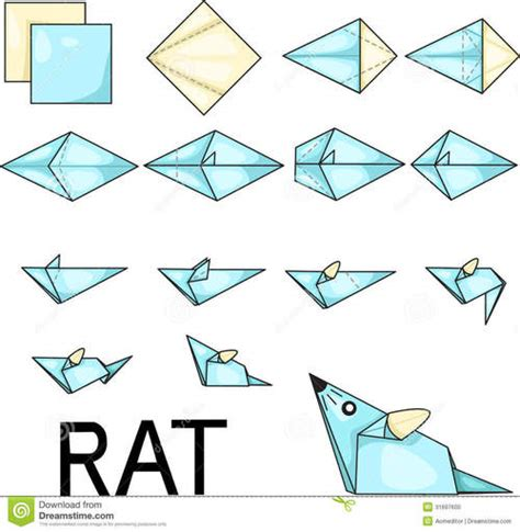 where does origami come from mouse souris origami we it