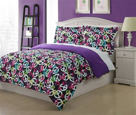 peace sign comforter sets peace bedding for and adults webnuggetz