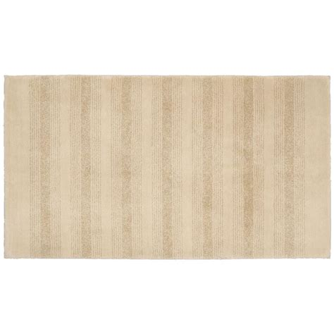 bathroom accent rugs garland rug essence linen 30 in x 50 in washable