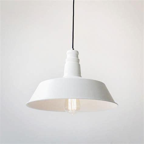 white industrial pendant light vintage industrial pendant light white tudo and co tudo