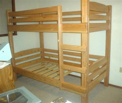 simple bunk bed plans bedroom designs bunk bed plans for children bed