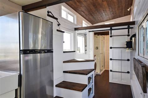American Shower And Bath Utility Sink custom mobile tiny house with large kitchen and two lofts