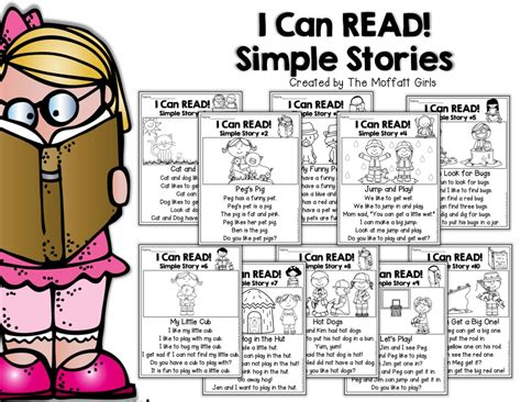 where can i read i can read simple sentences set 1 no prep packet