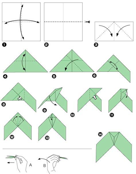 Origami Boomerang Design Bild