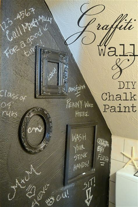 diy chalkboard talk the poor sophisticate potty talk and diy chalk paint