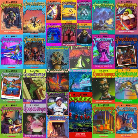 list of goosebumps books with pictures goosebumps books list pictures to pin on pinsdaddy