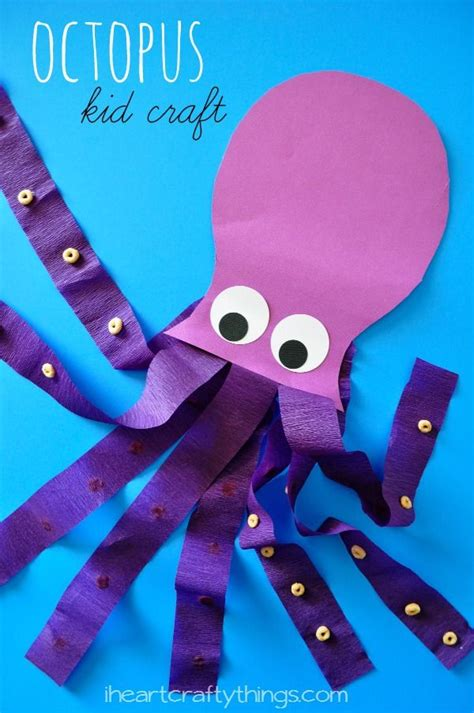 octopus crafts for 25 best ideas about octopus crafts on