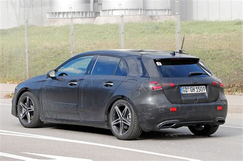 Mercedes A Class by Mercedes A Class Spyshots By Car Magazine