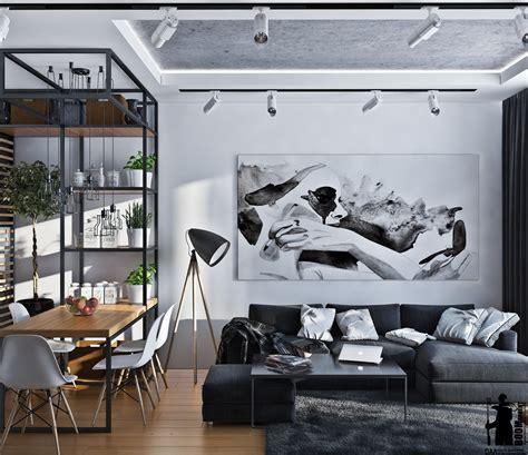 scheme design artistic apartments with monochromatic color schemes