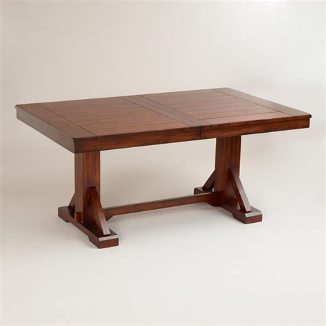woodworking dining table free trestle table plans woodworking image mag