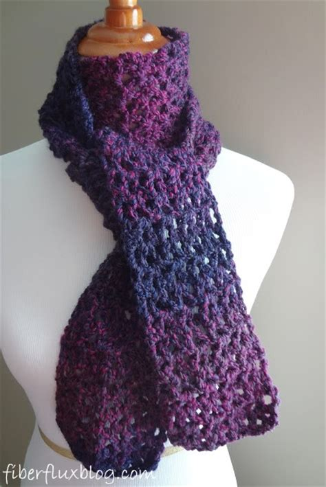how to knit a scarf quickly free and easy crochet scarf patterns crochet and knit