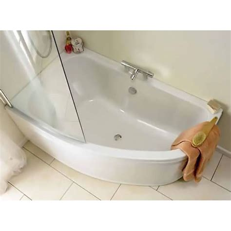 offset corner bath shower screen 5 advantages of corner baths