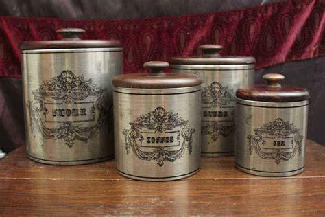 Western Kitchen Canisters kitchen canister sets country design inspiration