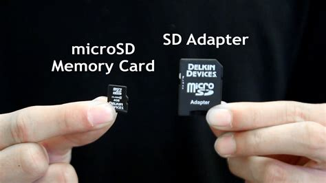 how to make sd card work again how to insert remove a microsd card from the sd adapter