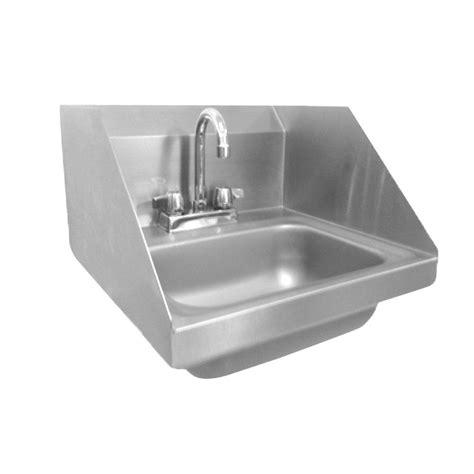 wall mount kitchen sink wall mount stainless steel 17 in 2 single basin