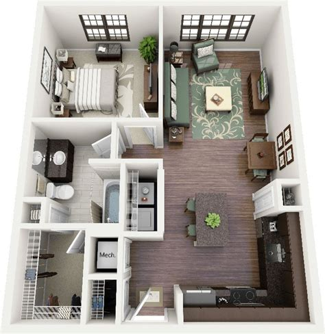 1 bedroom flat design ideas 25 best ideas about one bedroom apartments on