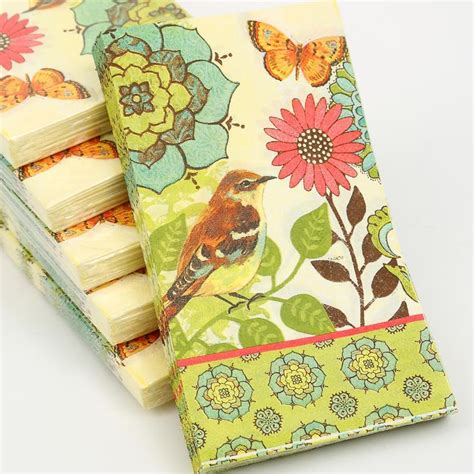 using napkins for decoupage aliexpress buy 2 x decoupage napkins cypress home 33