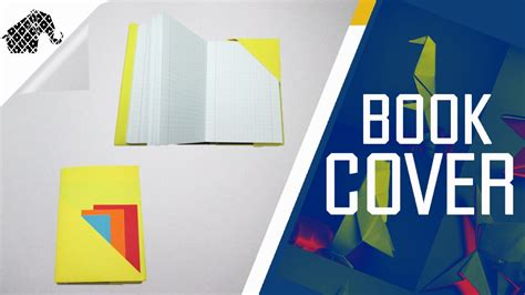 make an origami book origami how to make an origami book cover