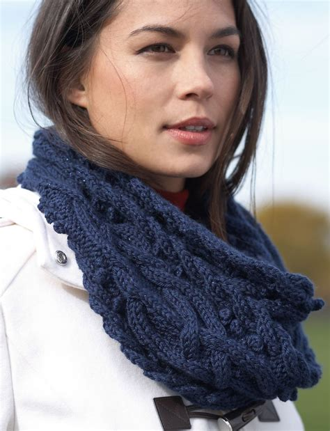 free knitted cowl patterns cables mystic vines cable cowl allfreeknitting