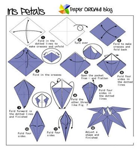 origami step by step for origami lights up cycle