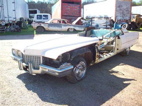 Parts For Cadillac by 1971 Cadillac Coupe Parts Car 2