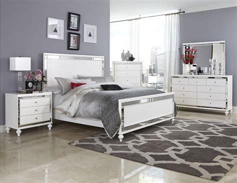 homelegance bedroom furniture 4 pc homelegance alonza beveled mirror frame bedroom set
