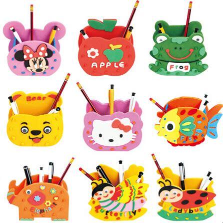 foam craft kits for zcz 1 pcs wholesale handmade pen holder foam craft