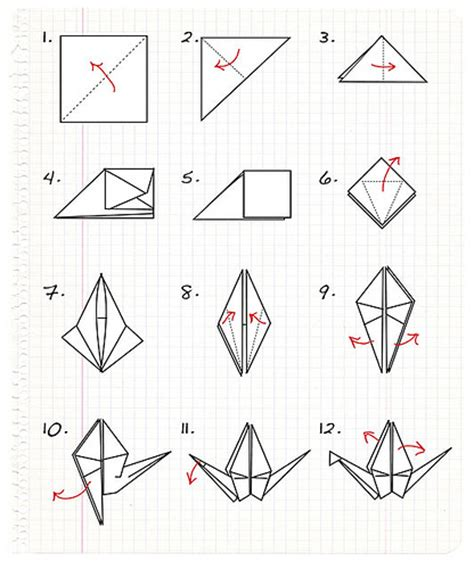 origami crane step by step origami crane step by step a photo on flickriver